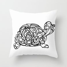 Dream Turtle Throw Pillow