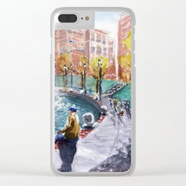 City Center Clear iPhone Case