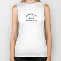 cape cod Biker Tanks featuring Cahoon Hollow, Cape Cod by America Roadside