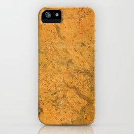 Map of Lunenburg 1864 iPhone Case