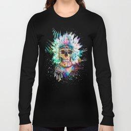 SKULL - WILD SPRIT Long Sleeve T-shirt