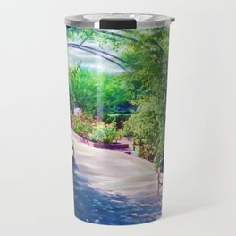 Rosy Bower Travel Mug