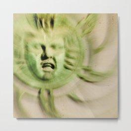Carousel Face Metal Print
