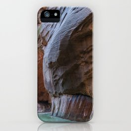 All Seeing Gopher (The Narrows, Zion National Park, Utah) iPhone Case