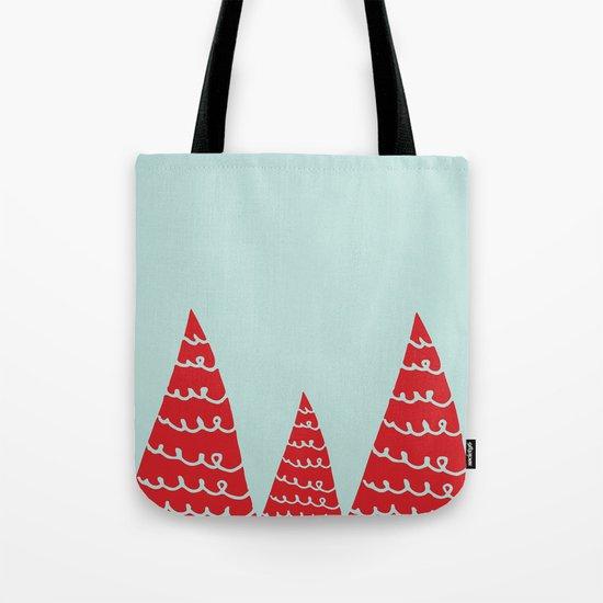 Funky christmas tree Tote Bag