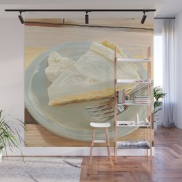 Lime Custard Pie from Lucy's Fried Chicken in Austin, Texas Wall Mural