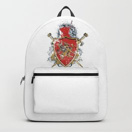 Griffin Shield - Swords - Coat of Arms Backpack