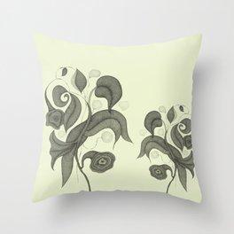 Botanica 4 Throw Pillow