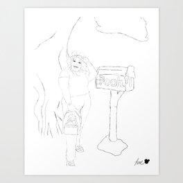 Bibbidi Bobbidi Broke Art Print