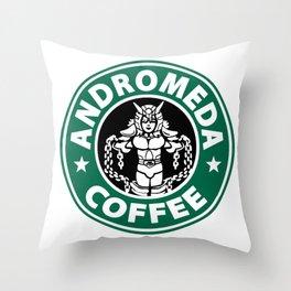 Andromeda Starbucks Throw Pillow