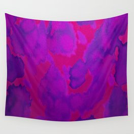 Pink Purple Wall Tapestry