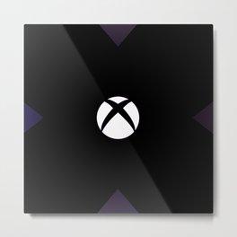 x box Metal Print