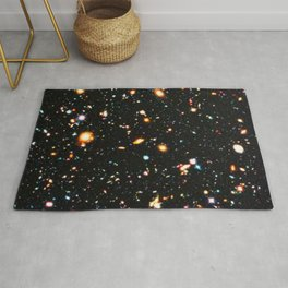 Hubble Extreme Deep Field High Resolution Rug