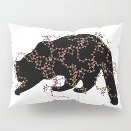 Feliz NAUGHTY Cat Pillow Sham