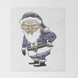 MoCKiNg SaNta **Blue Edition** Throw Blanket