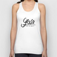 grace Tank Tops featuring Grace by Pedro A Ribeiro