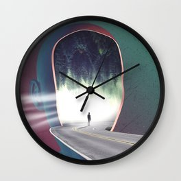 COME INTO MY MIND Wall Clock