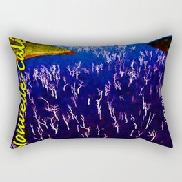 Landscapes and Animals of New Caledonia Rectangular Pillow
