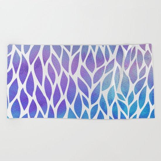 Petals Pattern #1 Beach Towel