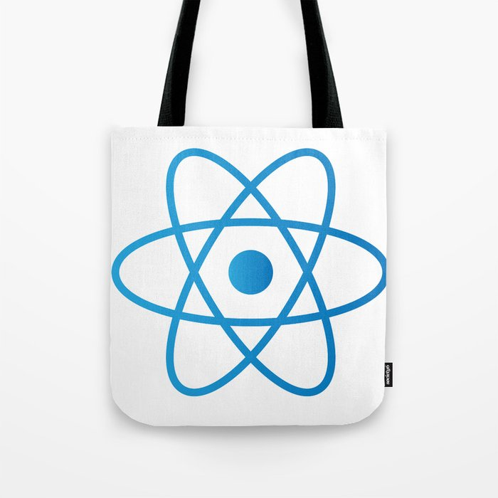 Abstract Isolated Atom Tote Bag