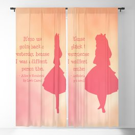 Alice in Wonderland Blackout Curtain