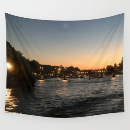 Paris, France - Seine Wall Tapestry