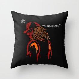 Young chang mc Throw Pillow