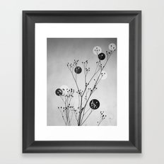 Abstract Flowers 3 Framed Art Print