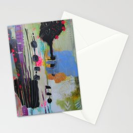 Acrylic Quilt Stationery Cards
