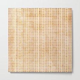 I Am Fine - Code (Gold) Metal Print