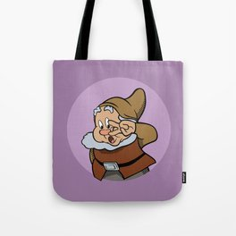 Pop Art Mashup: Snow White - Scared Happy Tote Bag