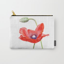 Red Poppy by Teresa Thompson Carry-All Pouch