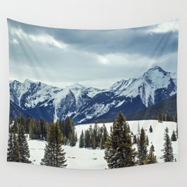 Rocky Mountains Wall Tapestry