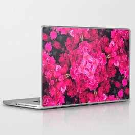 Pink Flower Mesh Laptop & iPad Skin