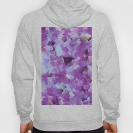 Lilacs And Blue Skies Cubed Hoody