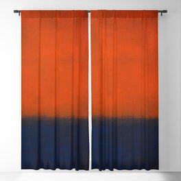 No. 14 - Mark Rothko Blackout Curtain