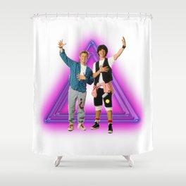 Stellar dudes Shower Curtain