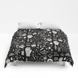 Curiosities: Bone Black Comforters