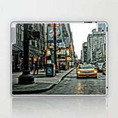 Hot Times in The City Laptop & iPad Skin