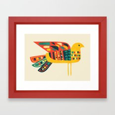Century Bird Framed Art Print