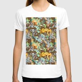 Serval enjoyed Koala T-shirt