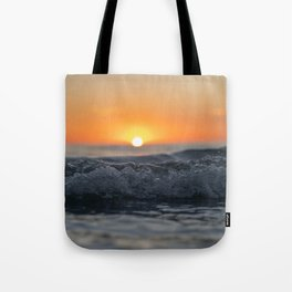 Incoming Waves Tote Bag