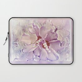 Delicate Floral Laptop Sleeve