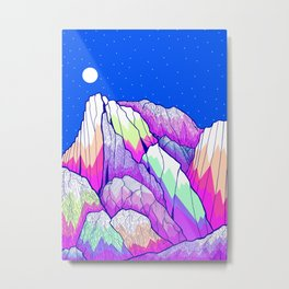 The vibrant Peak Metal Print