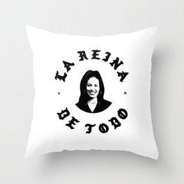 LA REINA SELENAS Throw Pillow
