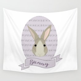 Madame Bunny Wall Tapestry