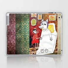 Girl & Wolf Laptop & iPad Skin