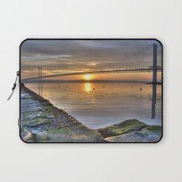 The Forth Road Bridge Sun Set Laptop Sleeve