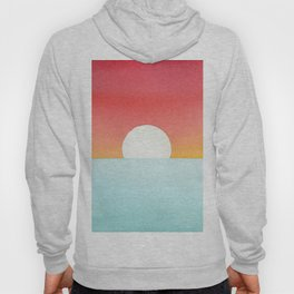 Sunset Watercolor Hoody