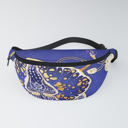 Egyptian Blue :: Orchid Fanny Pack